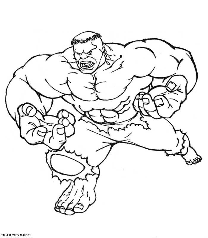 The hulk coloring pages az coloring pages for The hulk coloring pages