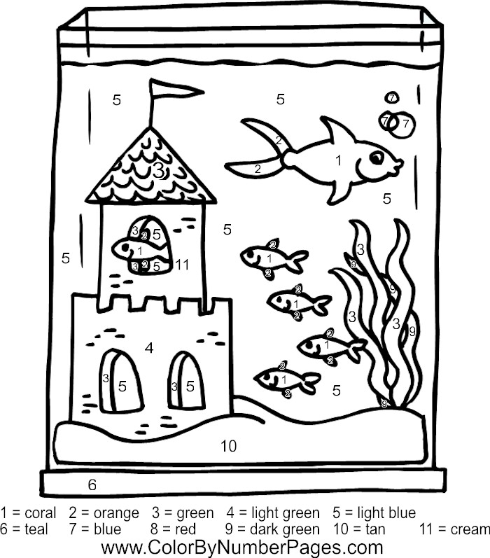 Fish Tank Coloring Pages Az Coloring Pages Fish Tank Coloring Page