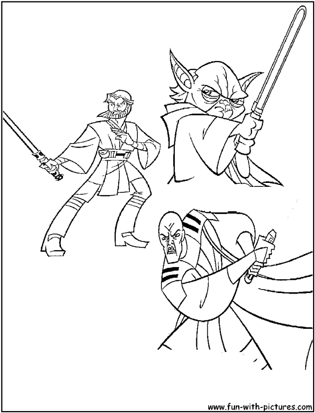 Anakin Coloring Pages Coloring Home