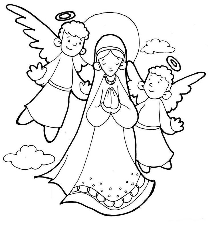 hail mary coloring pages - photo #41