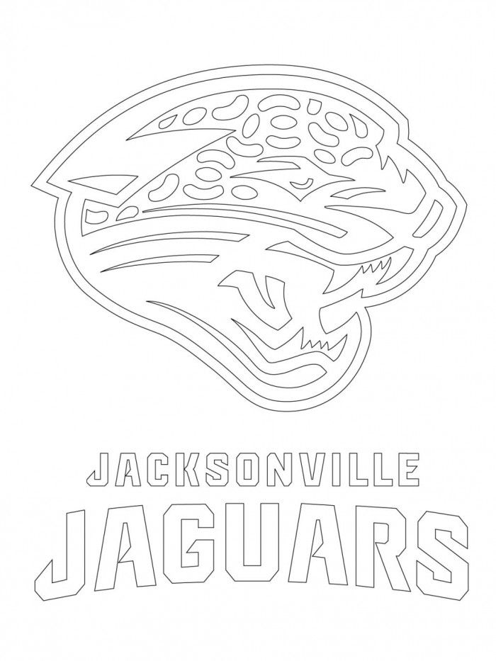 jaguars coloring pages free - photo#17