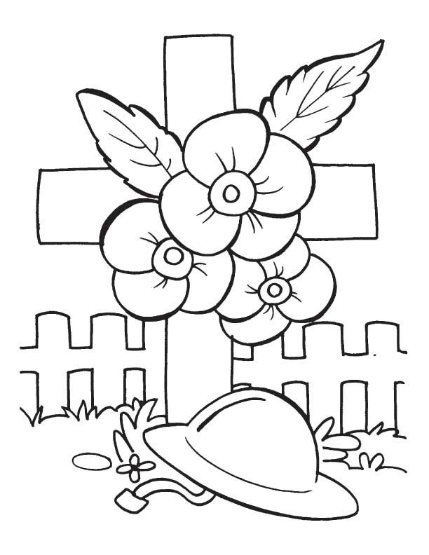 Remembrance day poster coloring pages, Kids Coloring pages, Free
