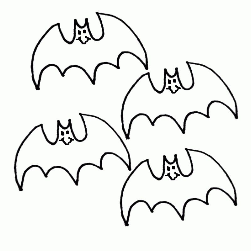 halloween bat coloring pages - photo #48