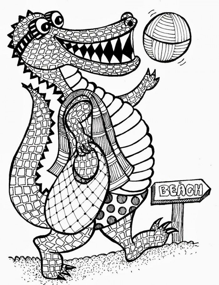 Printable alligator coloring pages coloring home for Alligator gar coloring page
