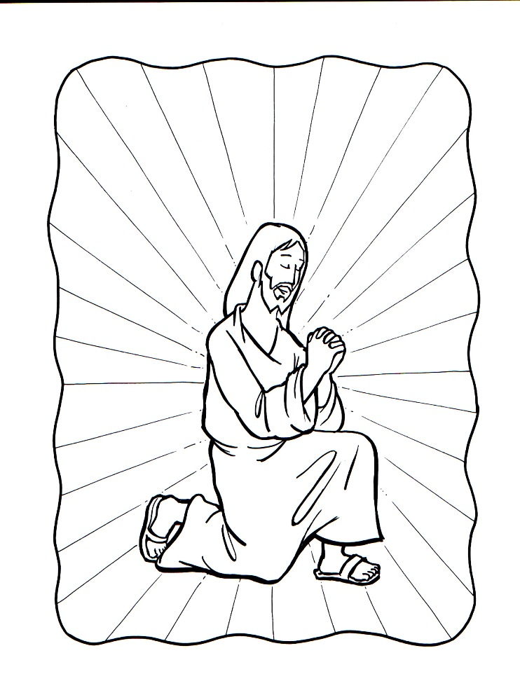 the our father coloring pages - photo#22