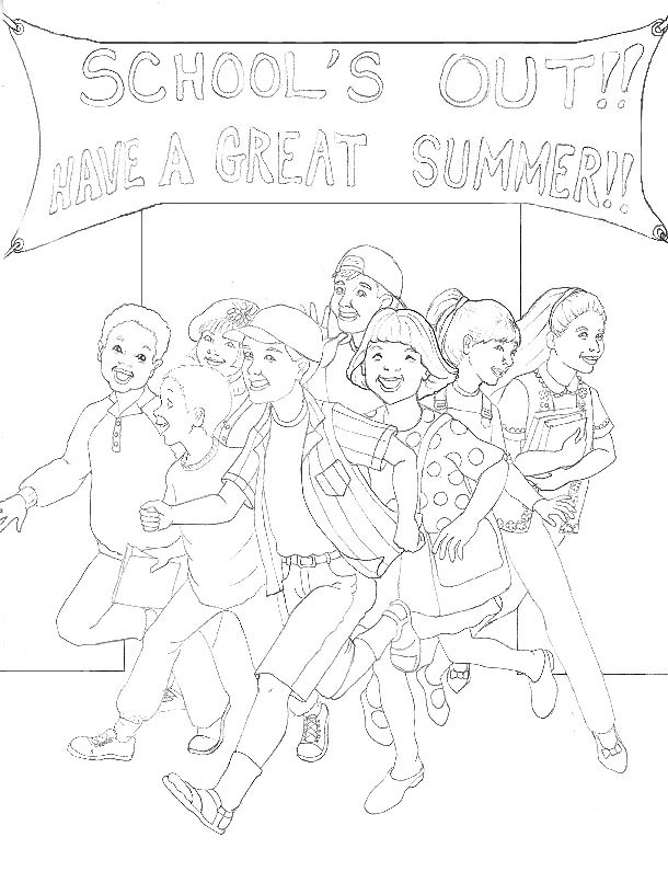 Last Day Of School Coloring Pages Az Coloring Pages Day Of School Coloring Pages