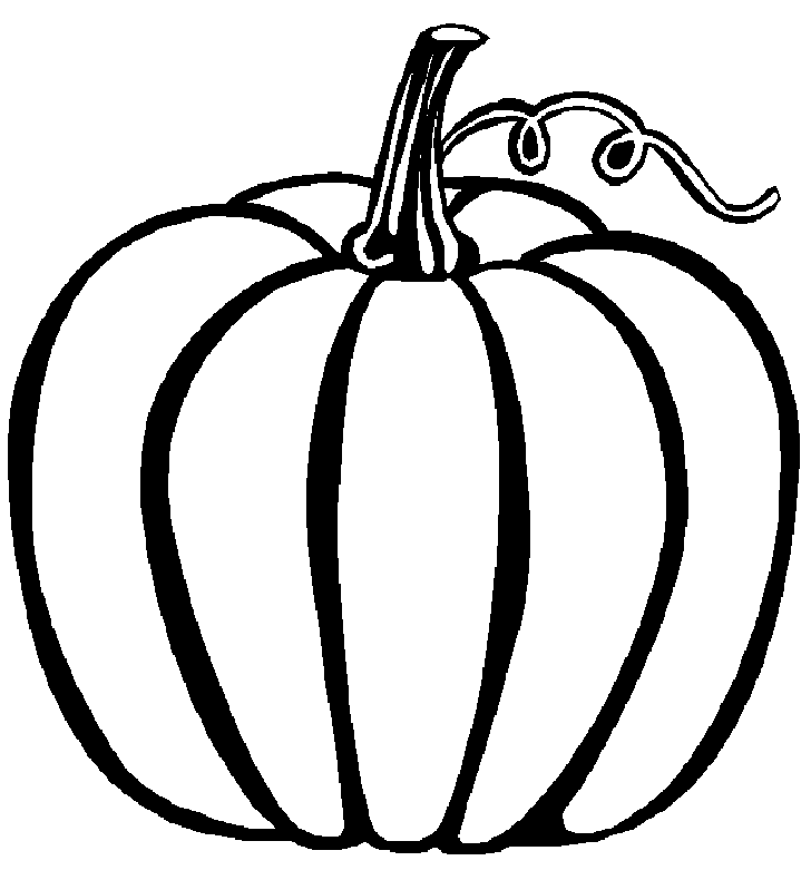 Pumpkin Coloring Pages 749 | Free Printable Coloring Pages