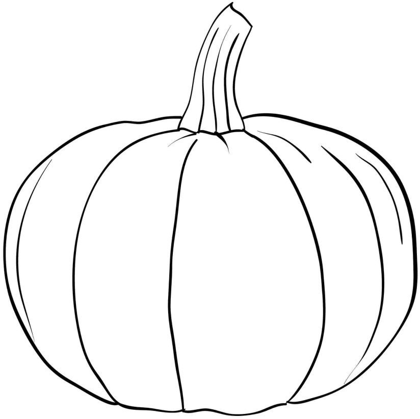 Pumpkin coloring pages printable az coloring pages for Coloring pages pumpkin free