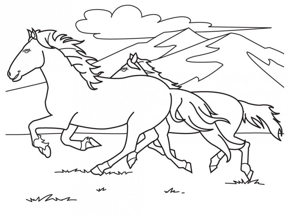 Barbie Horse Coloring Pages Barbie Riding A Horse Coloring Pages