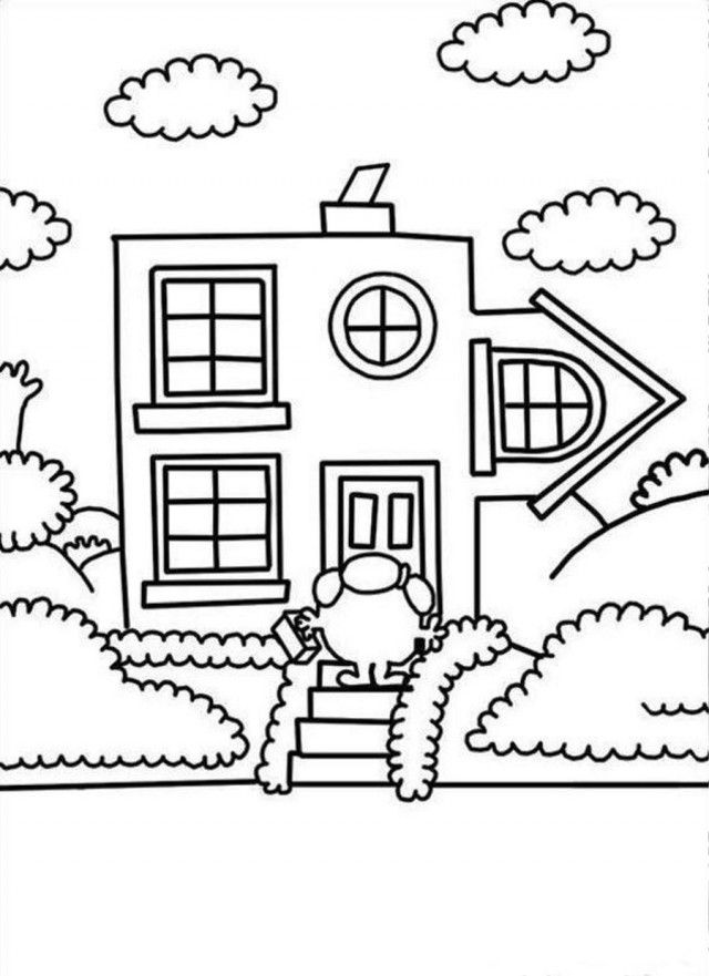 Color Language Coloring Page  crayolacom