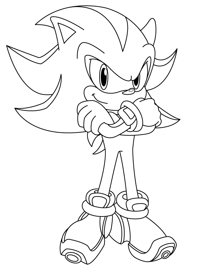 Shadow Lineart by sonictopfan on deviantART