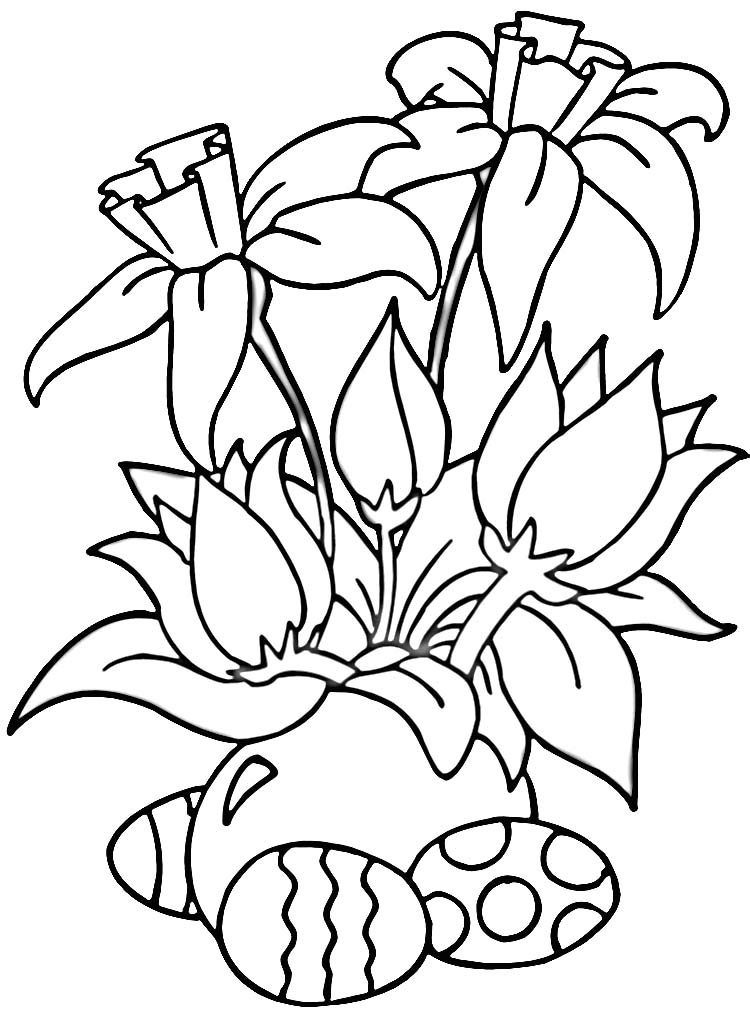 Daffodil Coloring Pages AZ Coloring
