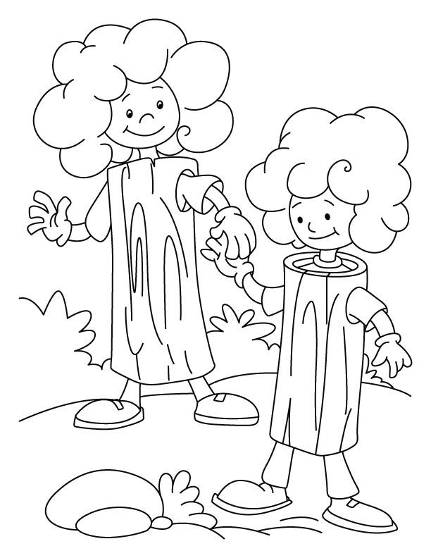 The giving tree coloring pages coloring home for Giving coloring pages