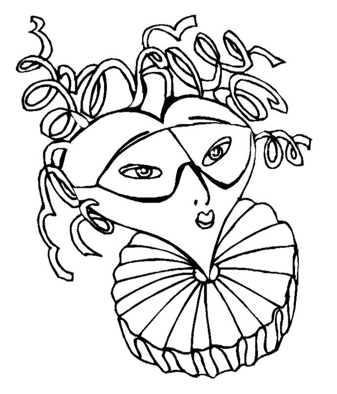 Mardi Gras Coloring Pages AZ Coloring Pages