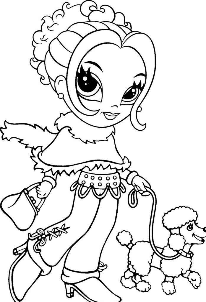lisa frank coloring pages - photo#12
