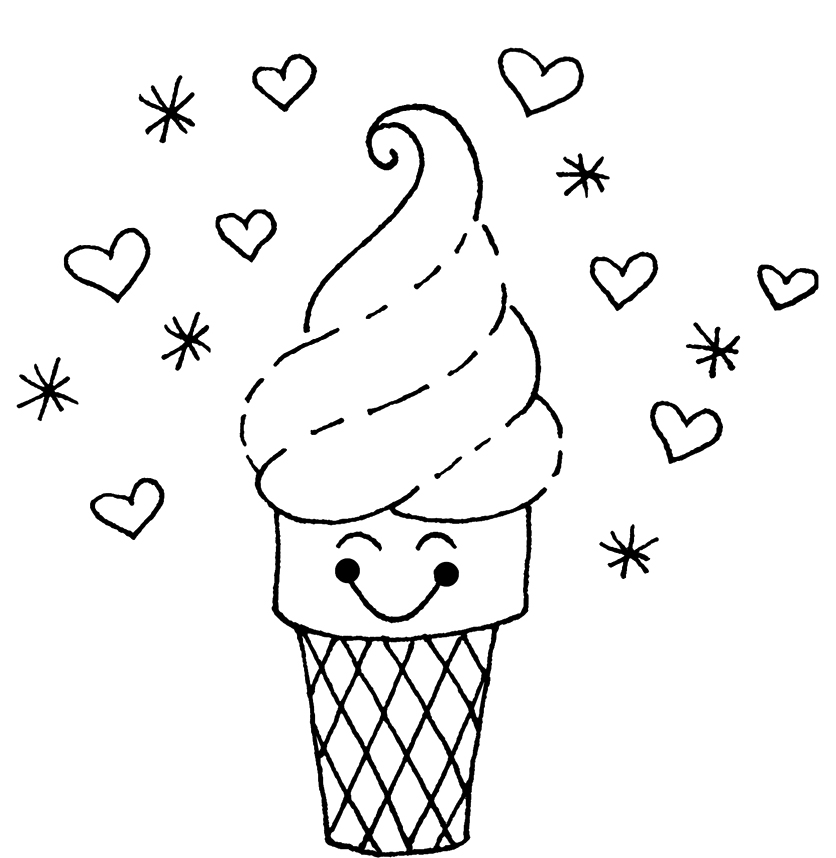 coloring pages ice - photo#34