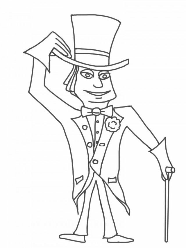 Charlie And The Chocolate Factory Coloring Pages And The Chocolate Factory Coloring Pages