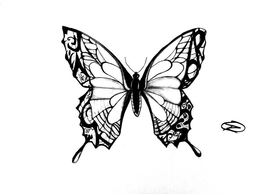 simple butterfly tattoos tattoo designs tattoo designs az coloring pages. Black Bedroom Furniture Sets. Home Design Ideas