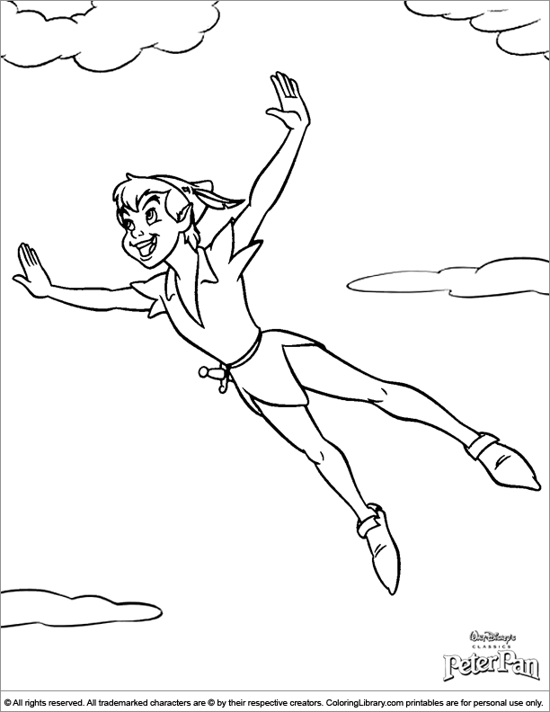 Free Coloring Pages Of Peterpan In Return To Neverland Pan Coloring Page