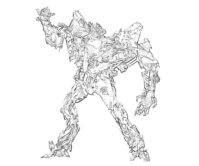 Free printable transformers coloring pages coloring home for Transformers coloring pages starscream