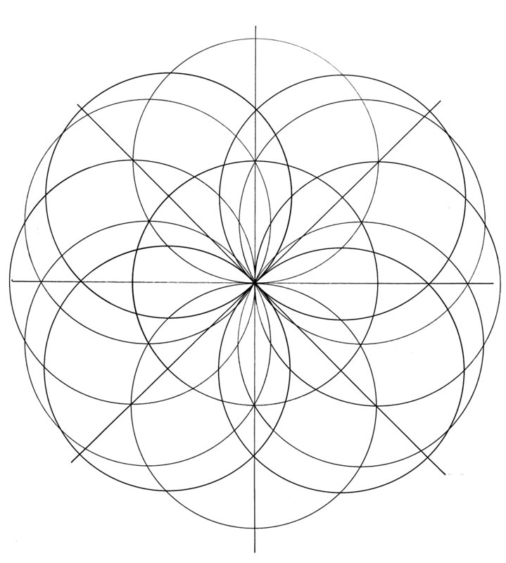 sacred geometry coloring pages - photo #13