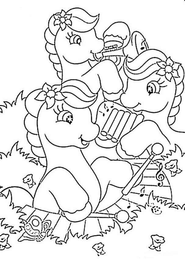 Music Coloring Pages : Coloring Book Area Best Source for Coloring