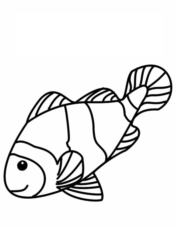 f for fish coloring pages - photo #40
