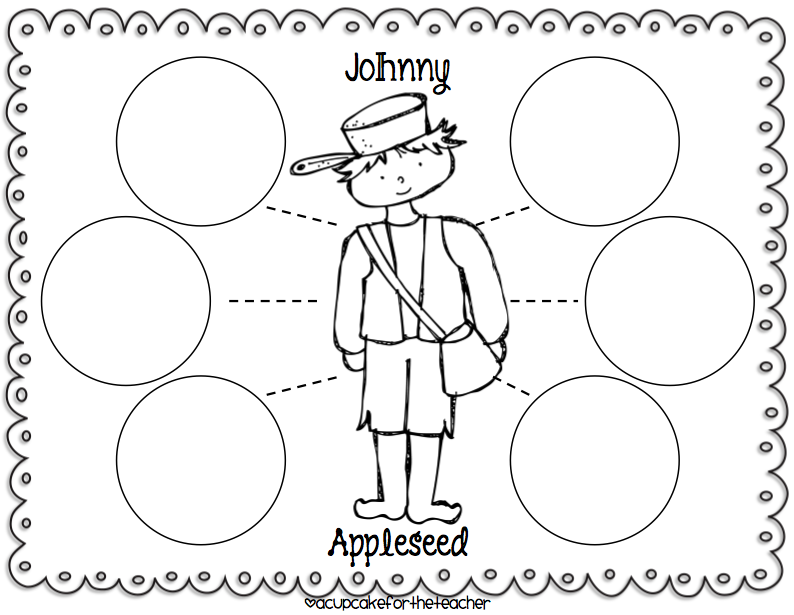 Johnny Appleseed Day Worksheets | Free Day Images