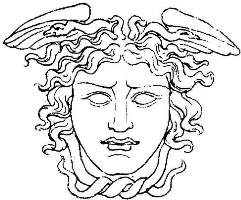 Medusa Coloring Pages Coloring Home Medusa Coloring Pages