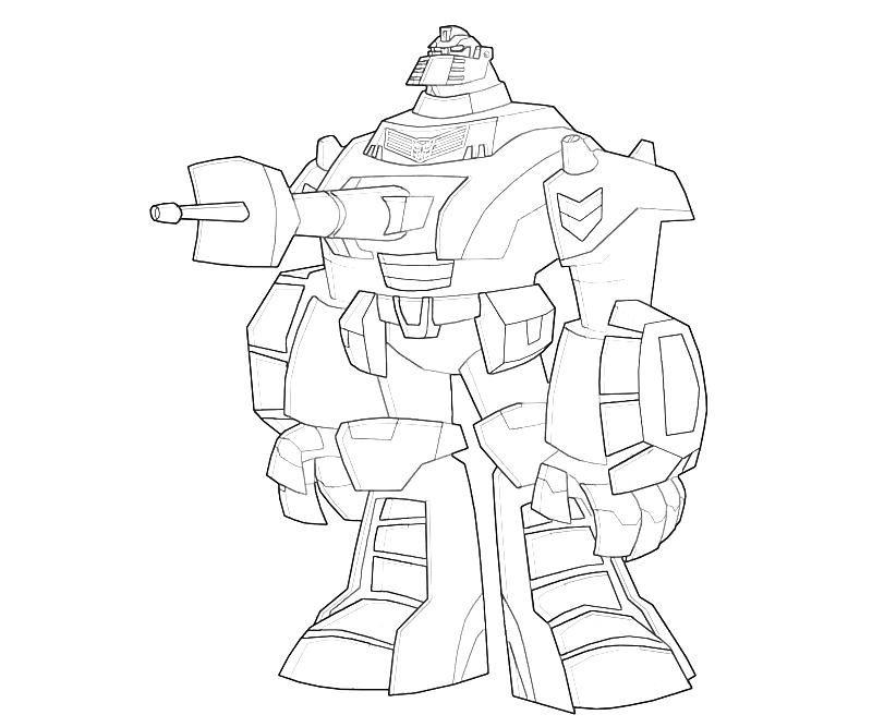 Transformers Fall Of Cybertron Warpath Cartoon