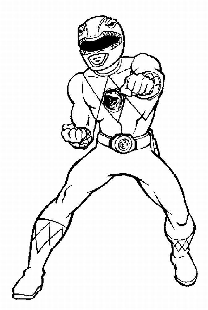 Power Rangers Coloring Pages For Kids Coloring Home
