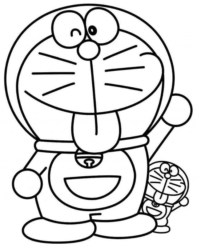 kids coloring pages doraemon hindi - photo#36