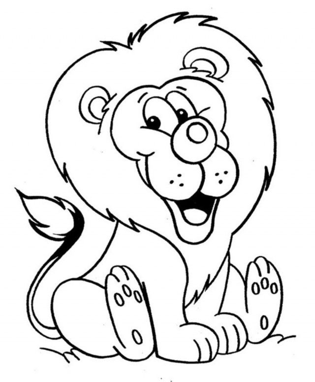 Lion Coloring Pages Pdf : The lion king mufasa coloring page pages