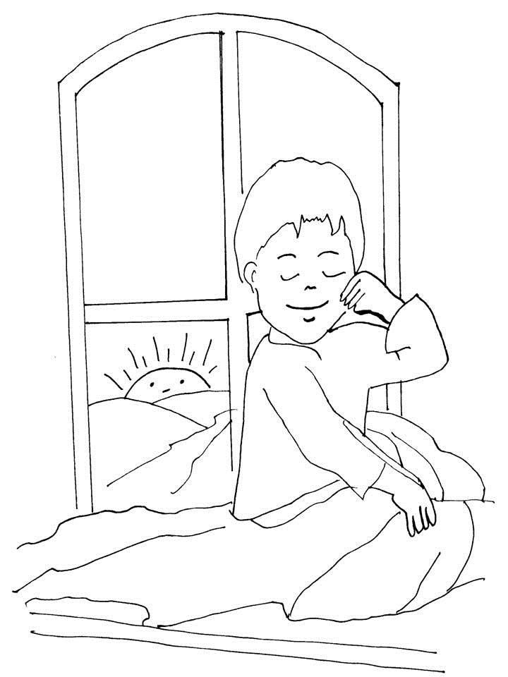 beds coloring pages - photo#14