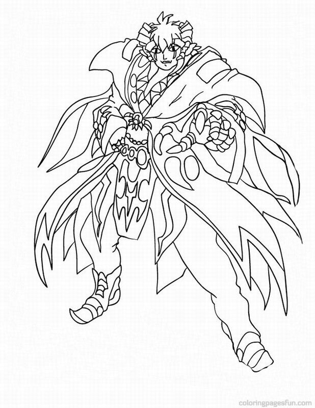 Bakugan Coloring Pages Free Printable Coloring Pages 2014 | Sticky