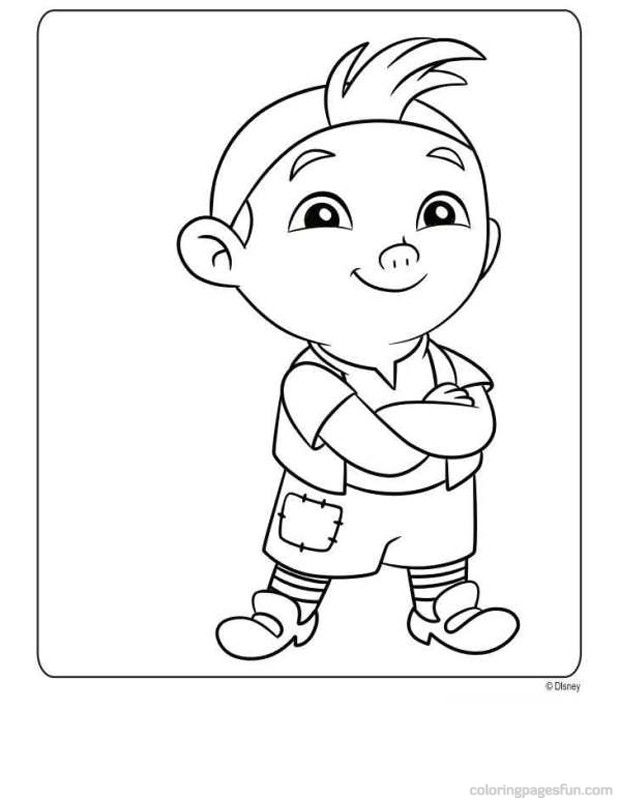 Jake and the neverland pirates free printables coloring home for Jake the pirate coloring pages