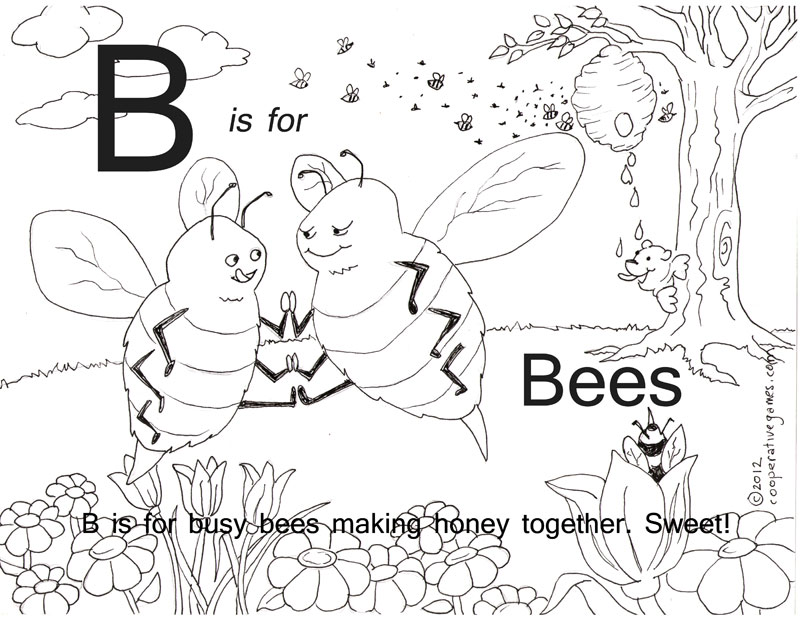 free cooperation coloring pages - photo#23