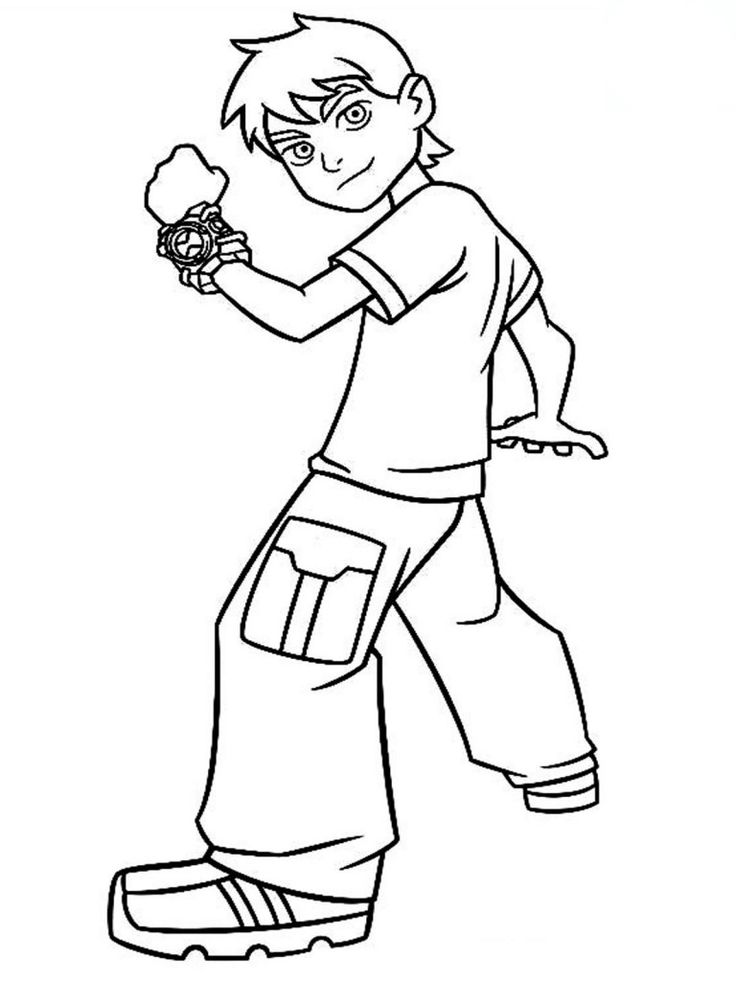Ben 10 Swampfire Coloring Pages - Coloring Home