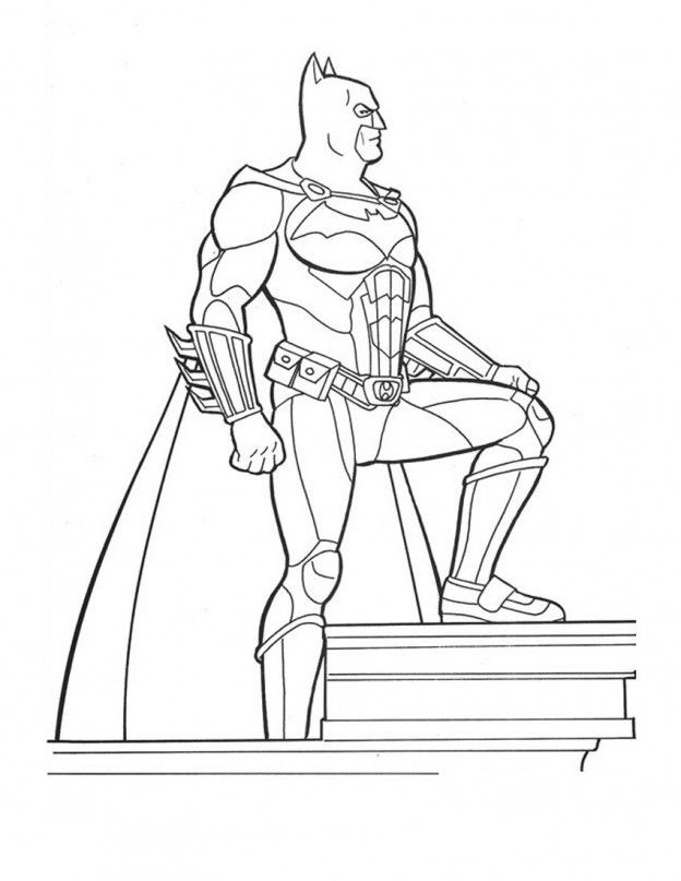 The Dark Knight Coloring Pages Coloring Home