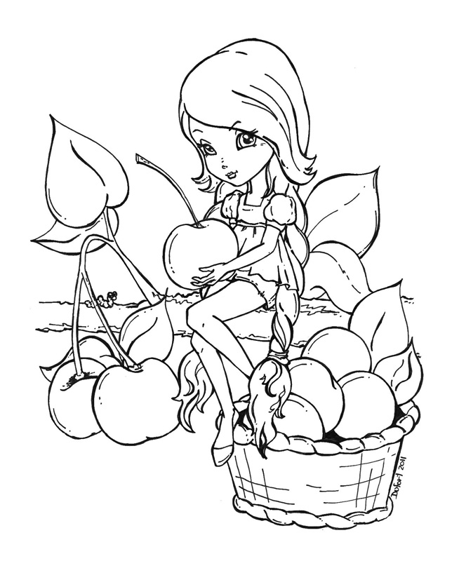 precious moments coloring pages autumn - photo#39