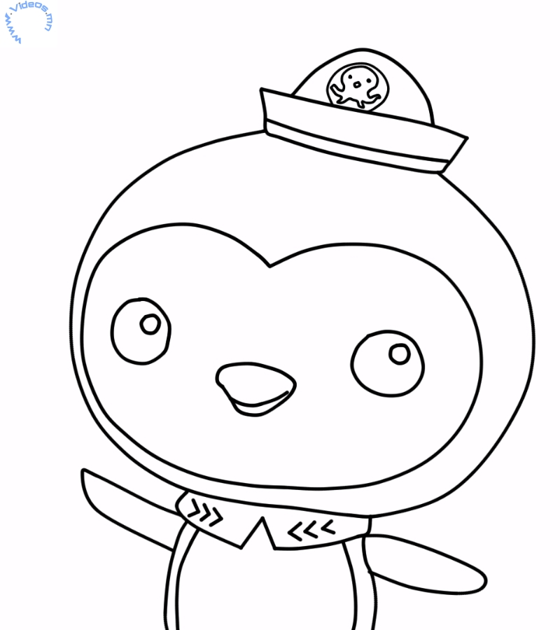 Octonauts Tweak Coloring Pages