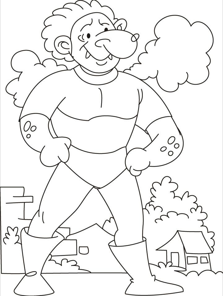 Large Coloring Pages For Kids Coloring Home