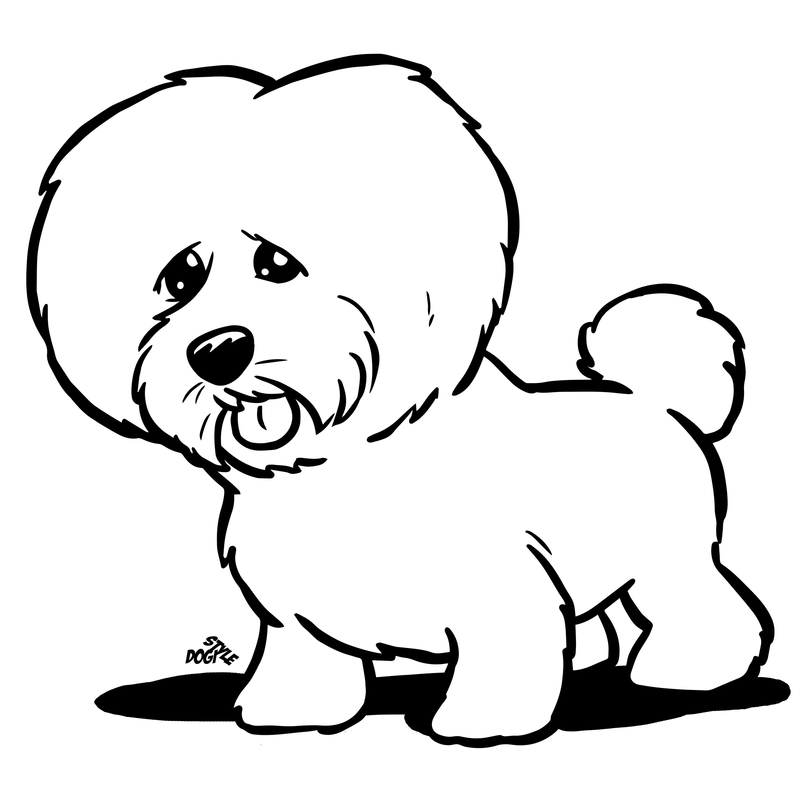 bassett coloring pages - photo#35