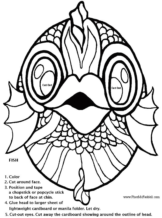 Fish Cutout Template