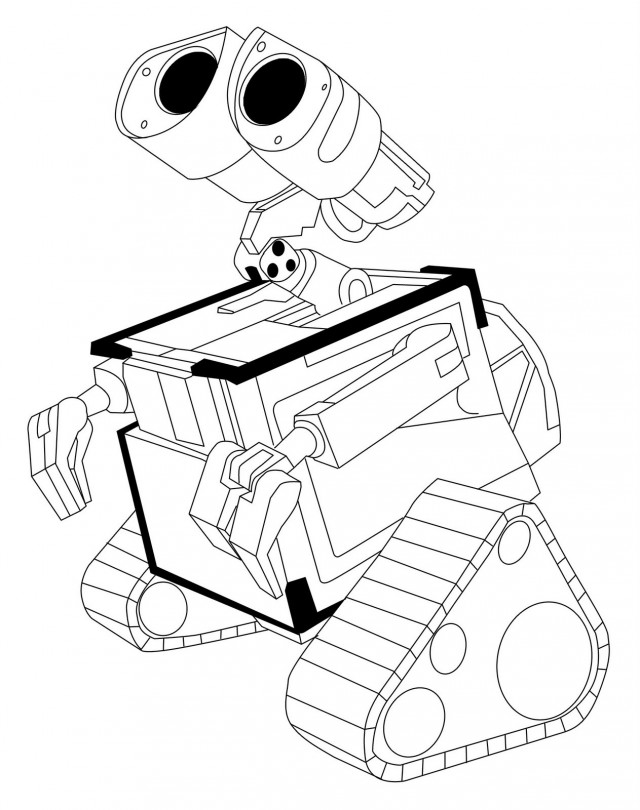 wall e eve coloring pages - photo#22