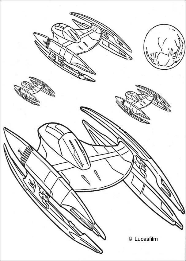 Star Wars Coloring Pages Pdf : Star wars coloring pages  disney book