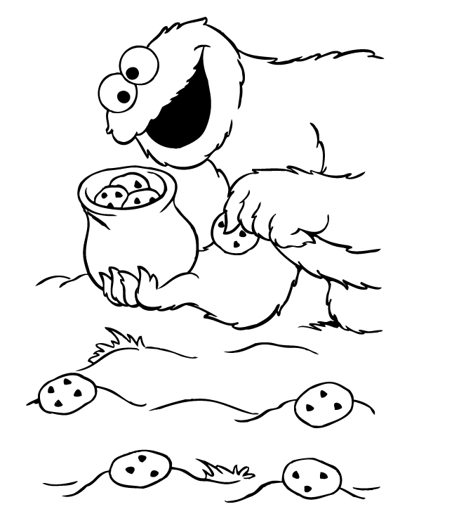 Elmo pictures to colour in az coloring pages for Elmo and cookie monster coloring pages to print