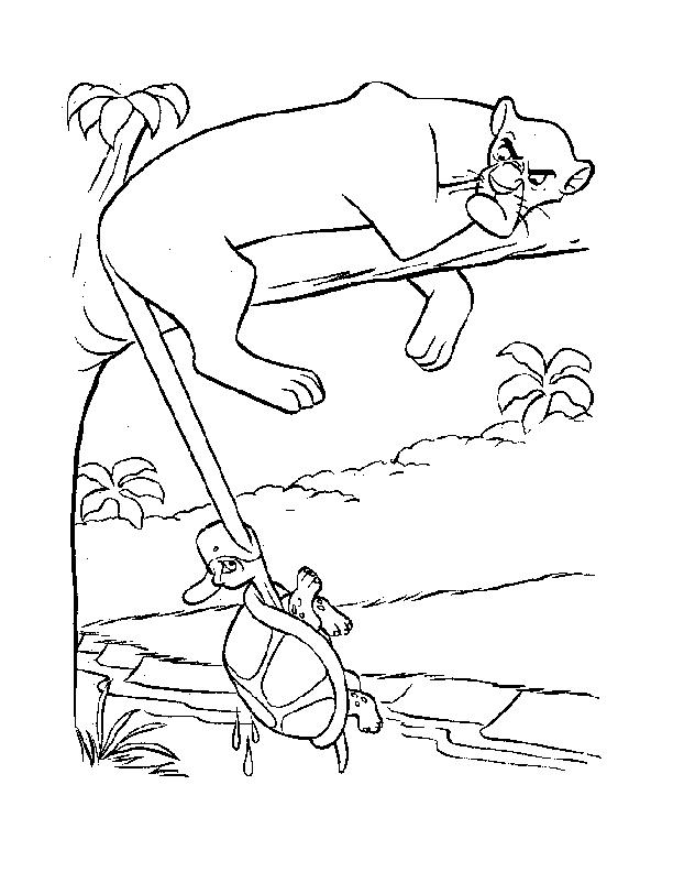 jungle jaunt coloring pages - photo#9