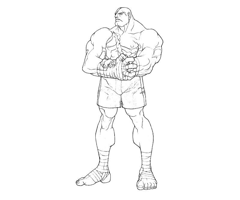 Street Fighter Coloring Pages Az Coloring Pages Fighter Coloring Pages