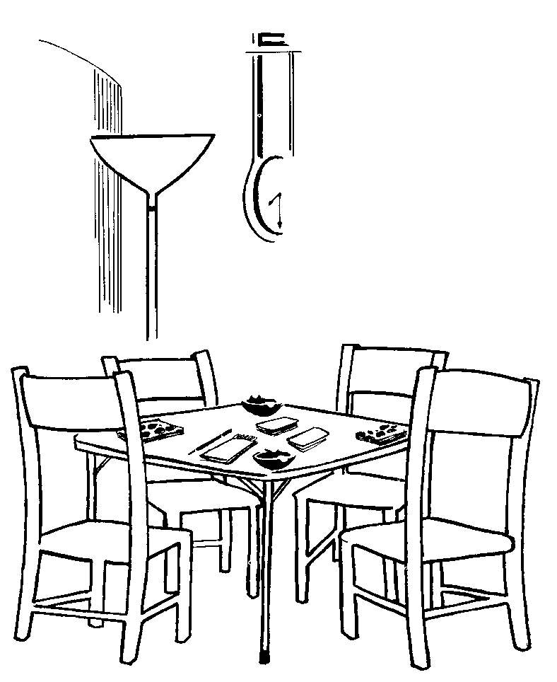book table Colouring Pages